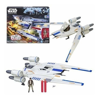 Nave Rebel U-wing Fighter Star Wars Rogue One Coleccion