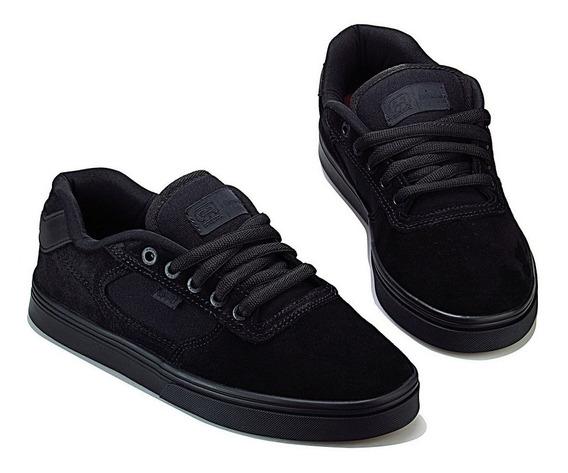 Tênis Hocks De Skate Flat Lite Black Preto Original