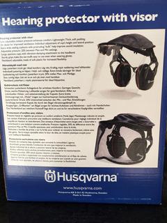 Protector Auditivo Husqvarna Con Plexivisor 505665348