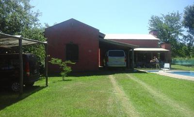 Casa Con Pileta En Villa Del Dique A 150 Ms Del Lago Para 8