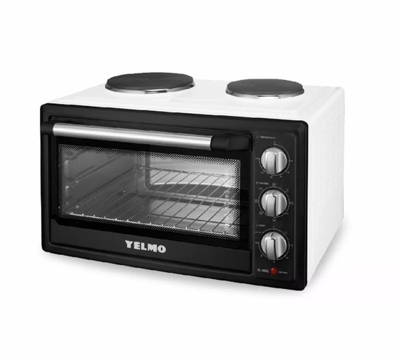 Horno Eléctrico Yelmo 40 Lts Doble Anafe 2000w Yl - 40ac