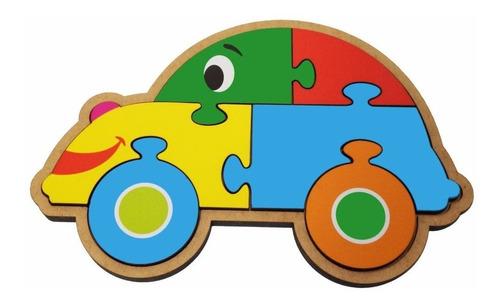 Quebra Cabeça Maninho Carro 87.5