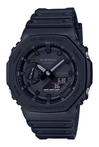 Relógio Casio G-shock Carbon Core Guard Ga-2100-1a1dr - Nf-e