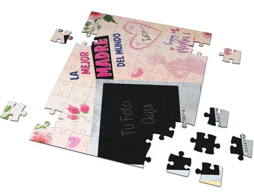 Rompecabezas Personalizado Mamá Día De Las Madres Puzzle