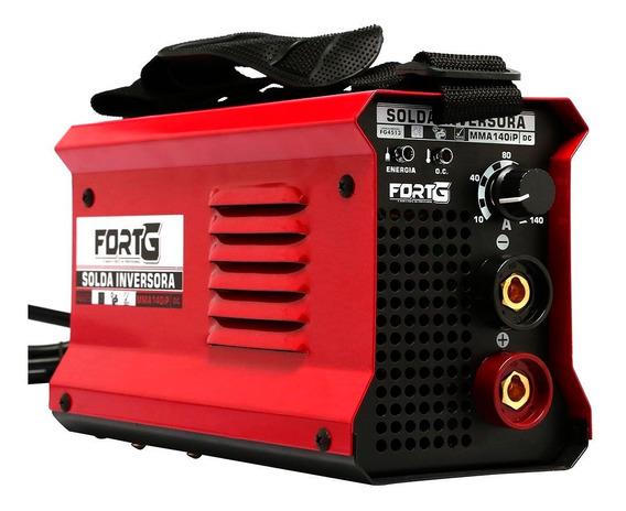 Máquina De Solda Inversora Mma140ip 140a Compacta-fortgpro-f