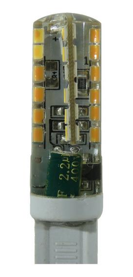 Lâmpada Led G9 Halopin Cbc 5w Para Lustres Branco Quente