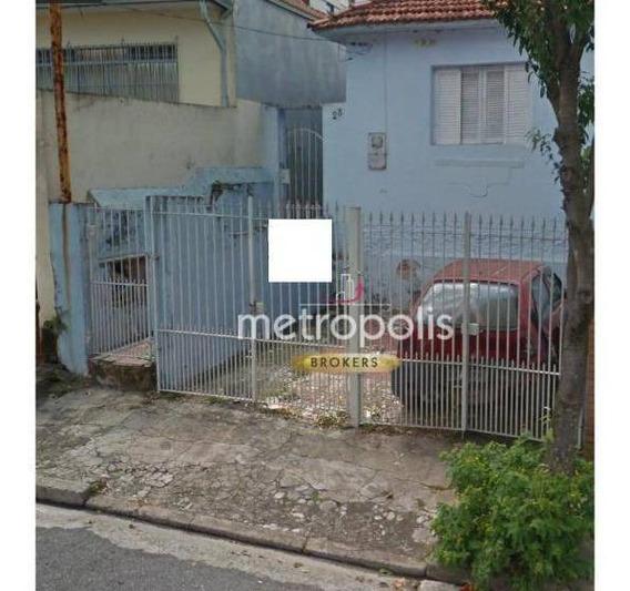 Terreno À Venda, 305 M² Por R$ 615.000 - Cerâmica - São Caetano Do Sul/sp - Te0141