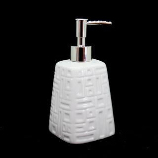 Dispenser P/ Detergente Jabón Liquido Alcohol 450ml Cerámica