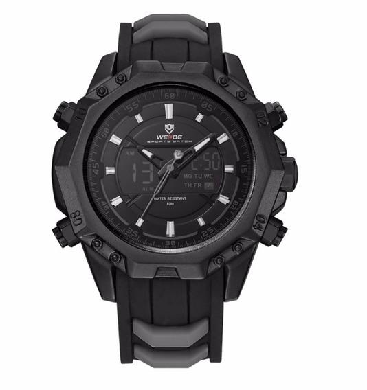 Relógio Masculino Esportivo Original Weide Analógico Digital
