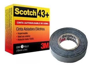 Cinta Autosoldable 3m Scotch43+ 19mmx5mts Baja Tensión