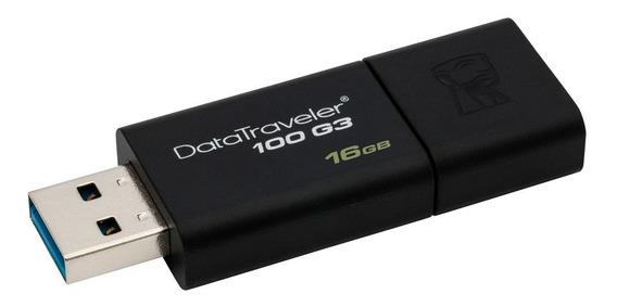 Pendrive Kingston 16gb Datatraveler 100 G3 Usb 3.0