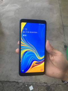 Samsung Galaxy A7 2018 Azul 128gb Dual Chip
