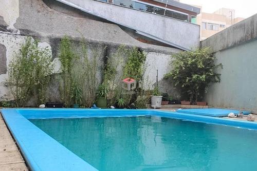 Imagem 1 de 29 de Sobrado Com Piscina Rudge Ramos - 71266