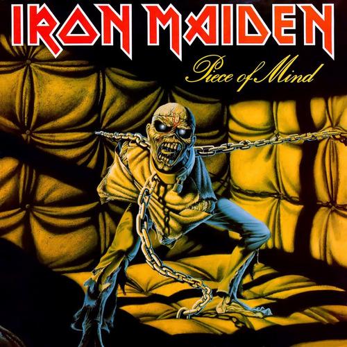 Vinilo Iron Maiden Piece Of Mind Nuevo