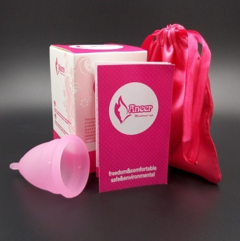Coletor Menstrual Copo Aneer Aneercare Copinho Reutilizável