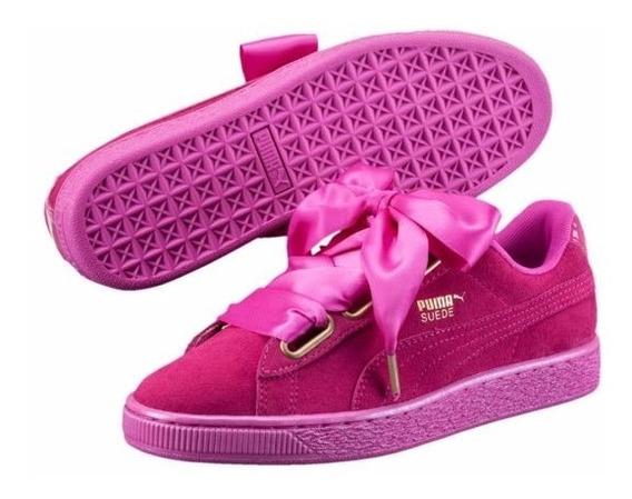 Puma Basket Heart No Fenty Rihanna Fucsia