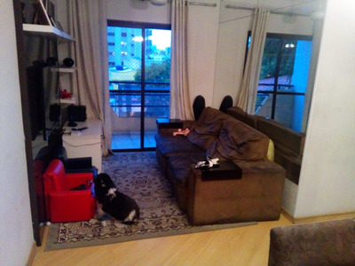 Cobertura Apartamento No Rudge Ramos Todo Planejado Churrasq