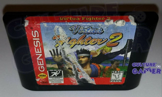Virtua Fighter 2 Para Tu Sega Genesis En Culture Gamer