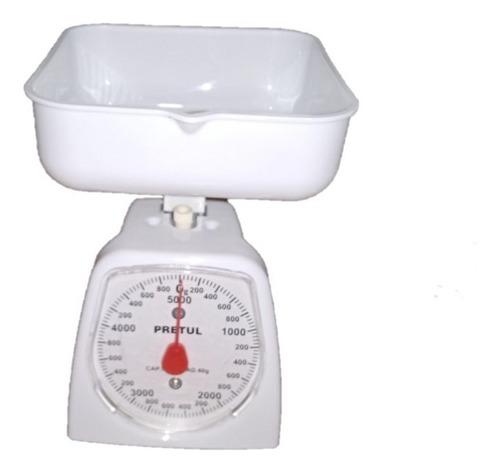 Bascula Metálica De Cocina 5 Kg