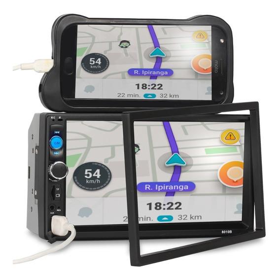 Centra Multimidia Mp5 Touch Bluetooth Universal Câmera De Ré