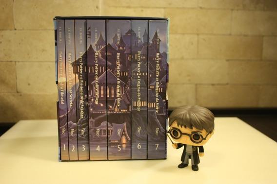Kit Harry Potter - Coleção Box Livro, 2 Varinhas E Funko