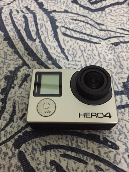 Camera Gopro Hero Black 4 Semi-nova C/ Pau De Selfie 1,85 Cm