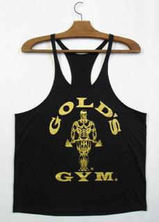 Regata Cavada Musculação Gold