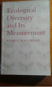 Livro Ecological Diversity And Its Measurement