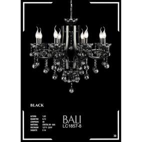 Lustre De Cristal K9 - Aaa 08 Lâmpadas Bali - Lc1857-8