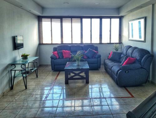 Apartamento Amueblado-  2 Habitaciones En Torre Naco2000-pis