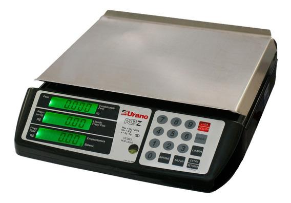 Balança comercial digital Urano POP-Z 20 kg 110V/220V preto