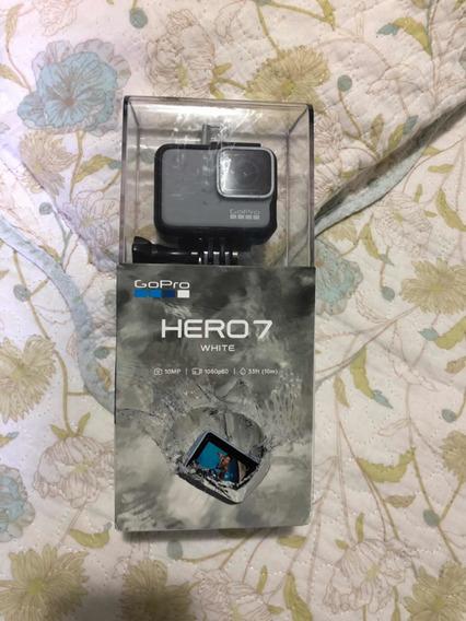 Go Pro Hero 7 White + Cartão De Memória De 128gb