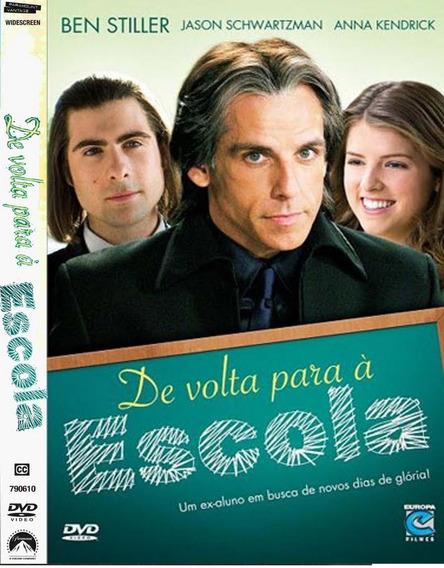 Dvd De Volta Para A Escola Lacrado!!!