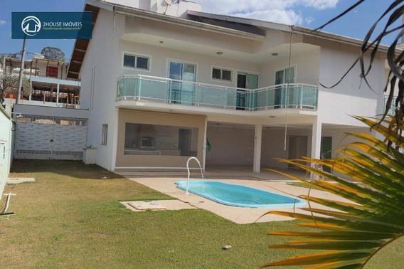 Casa Com 3 Dormitórios À Venda, 395 M² Por R$ 1.600.000,00 - Caxambu - Jundiaí/sp - Ca2538