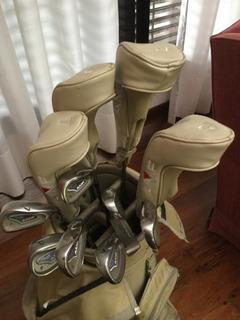 Palos De Golf Amf Mujer Kit Completo , Poco Uso