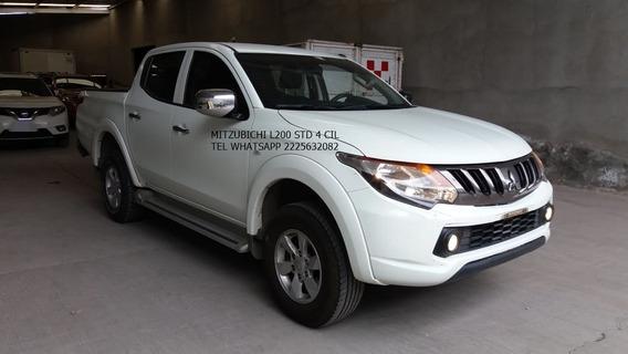 Mitzubishi L200 Pickups Dob /cab 2017 4 Cil Eng $ 55,600