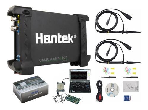 Interfaz Osciloscopio Digital Usb -2 Canales - Hantek 6022be