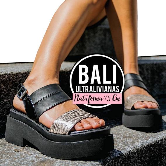 Sandalias Plataforma Gomon Altas Bajas [-30% Off] Mujer
