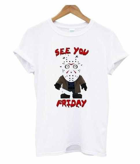 Camiseta Masculina See You Friday