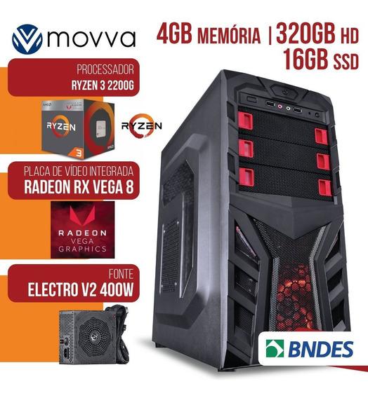 Computador Gamer Amd Ryzen 3 2200g 3.5ghz
