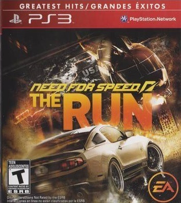 Jogo Need For Speed The Run Ps3 Mídia Física Corrida Game