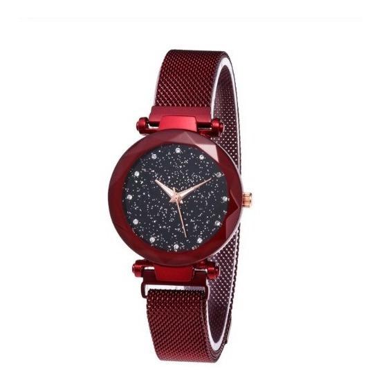 Mulheres Relógio De Pulso Quartzo Elegante Aço Inoxidável