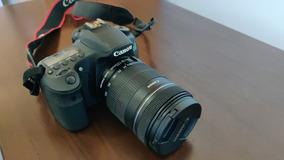 Canon 60d + Lente 18-135mm Apenas 11 Mil Cliques