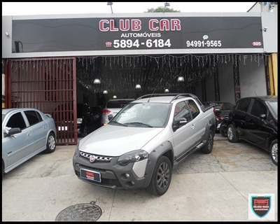 Fiat Strada Adventure Cd Flex 1.8 16v 3p Completa-2017