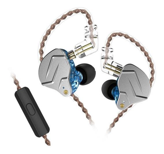 Fone de ouvido KZ ZSN Pro blue