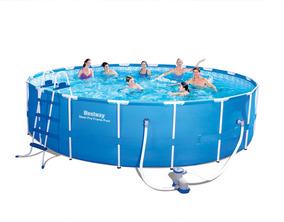 Steel Pro Frame Pool Set 549cm X 122cm - Bestway