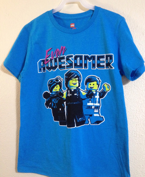 Playera Lego Movie 2, Lucy, Emmet Y Rex