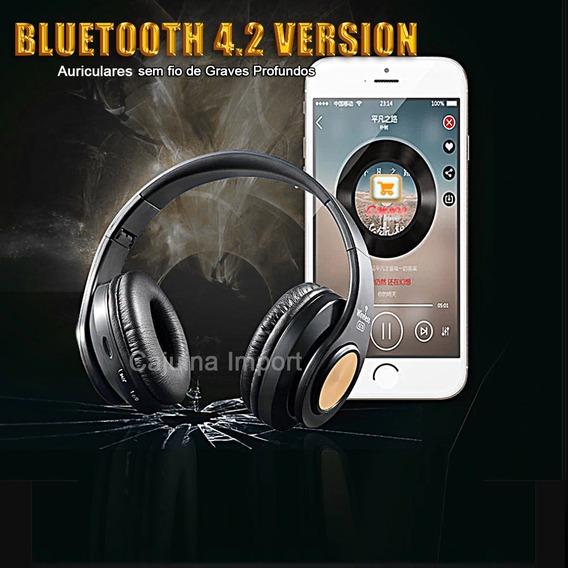Fone Ouvido Headphone Armoon Bluetooth Academia Hz - 10