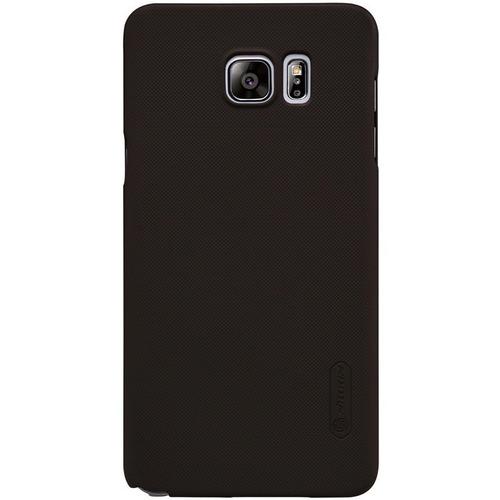 Imagen 1 de 7 de Carcasa Nillkin Frosted Shield Samsung Galaxy Note 5, Café