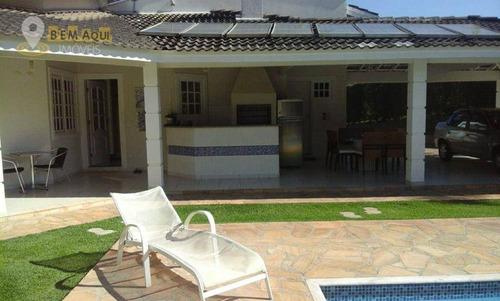 Imagem 1 de 30 de Casa Com 4 Dormitórios À Venda, 266 M² Por R$ 1.500.000,00 - Parque Village Castelo - Itu/sp - Ca1581